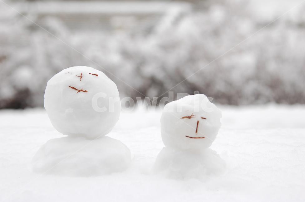 눈사람, 겨울, 눈, 설경, 스노우