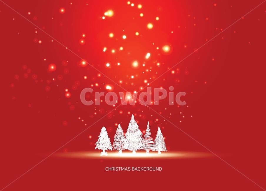 크리스마스, 트리, 장식, 성탄절, 연말