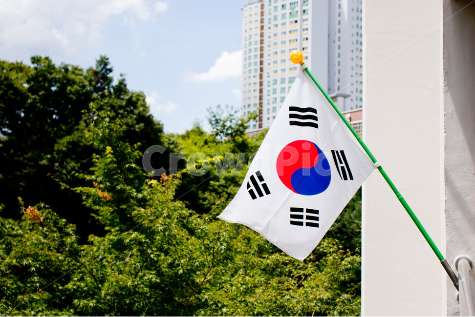 태극기, 국기, 광복절, 국경일, 한국
