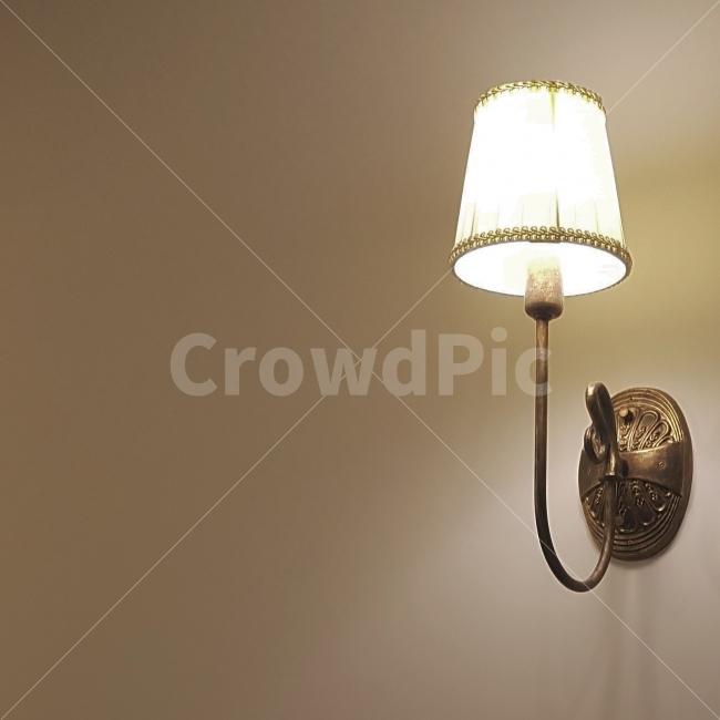 카페, 램프, 조명, 일상, 빛