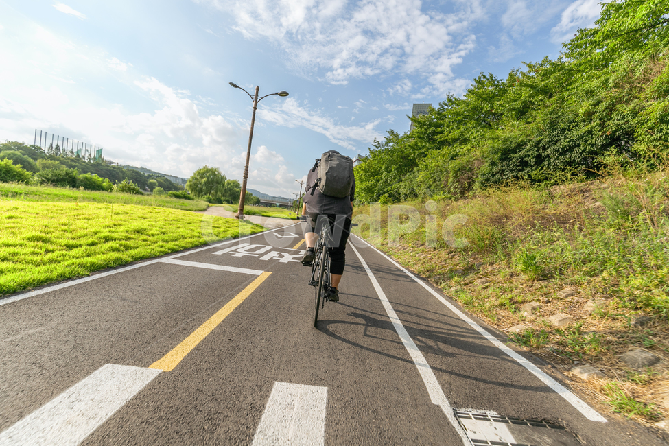 asphalt, 아스팔트, road, 도로, human