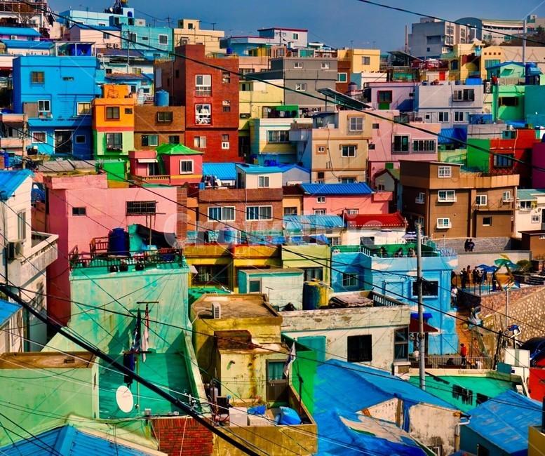 감천문화마을 - 팝코넷 | 포토 갤러리