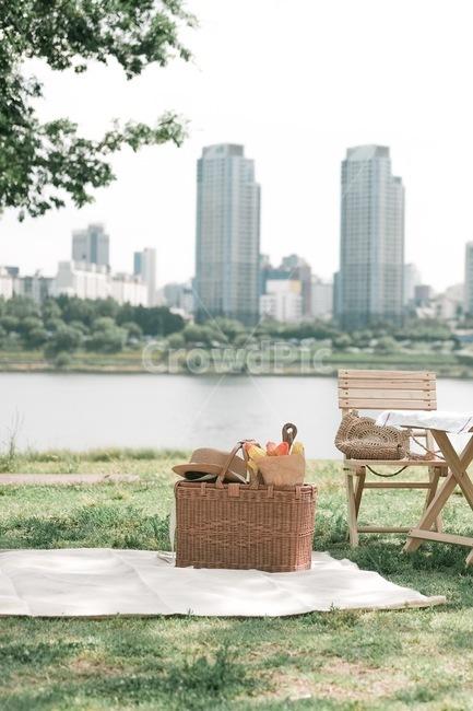 소풍, 휴식, 피크닉, 자연, 공원