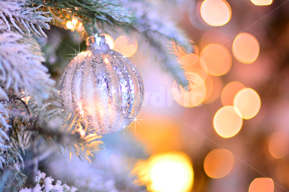 크리스마스, 성탄절, 장식물, 트리, 데코레이션
