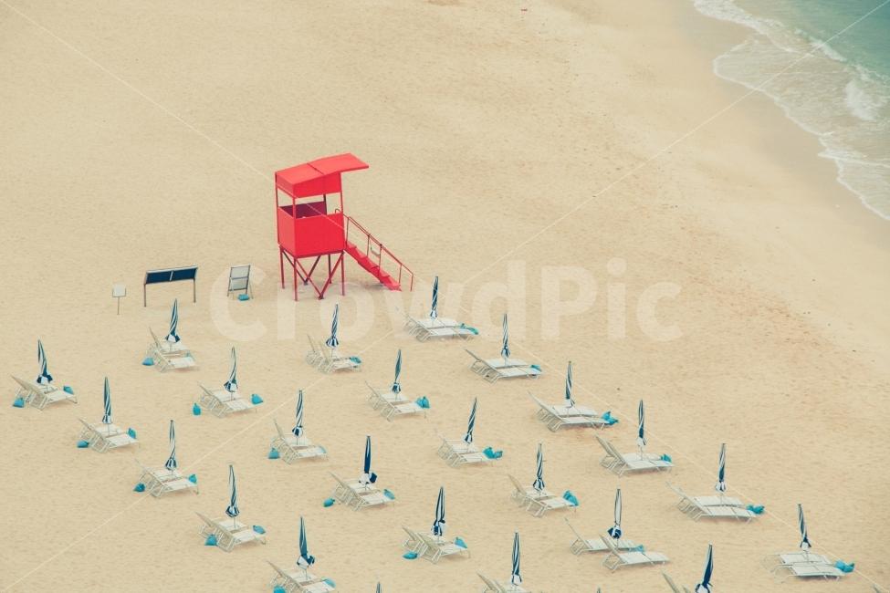 바다, 일본, 오키나와, 해변, 여름