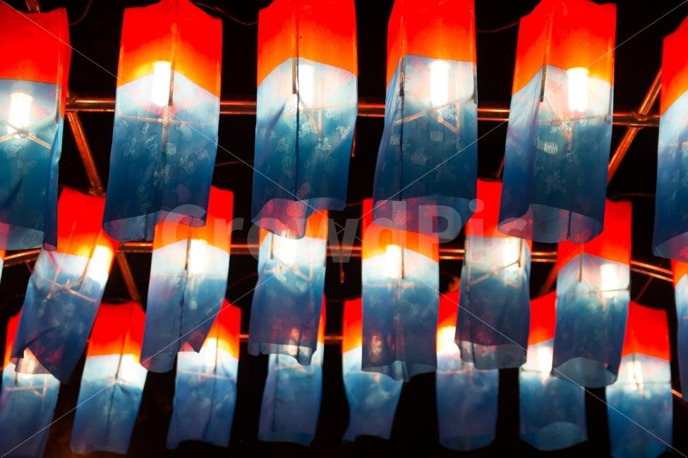 청사초롱, 초롱불, 조명, 전통, 한국