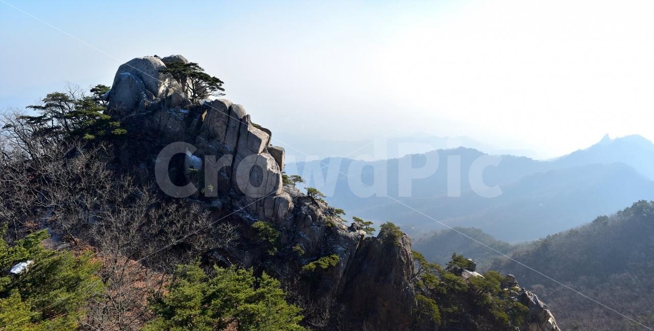 도봉산, 풍경, 자연, 국립공원, 산