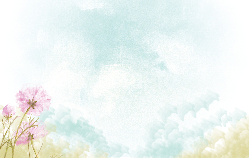 가을, 코스모스, 꽃, 배경, 하늘