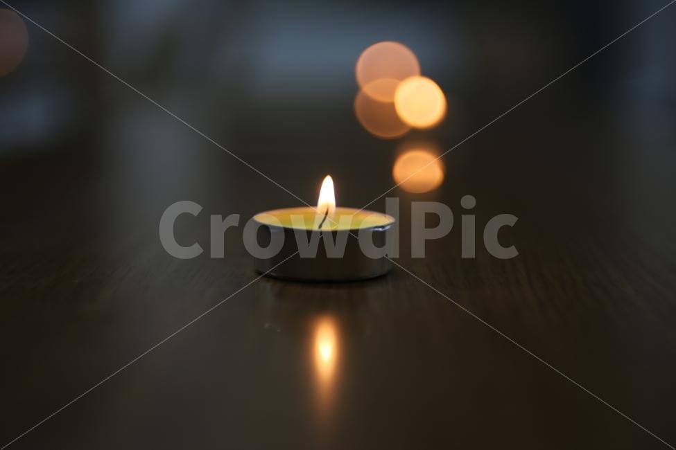 촛불, 배경, 파워포인트, 불빛, 어두운배경