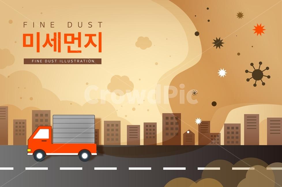 경유차, 매연, 환경오염, 자동차, 미세먼지