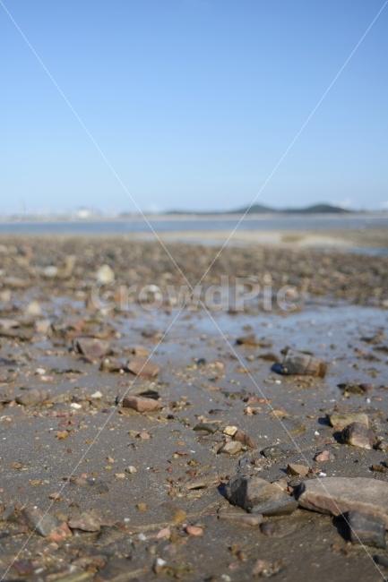 그리움, 바다, 조약돌, 해변, 모래