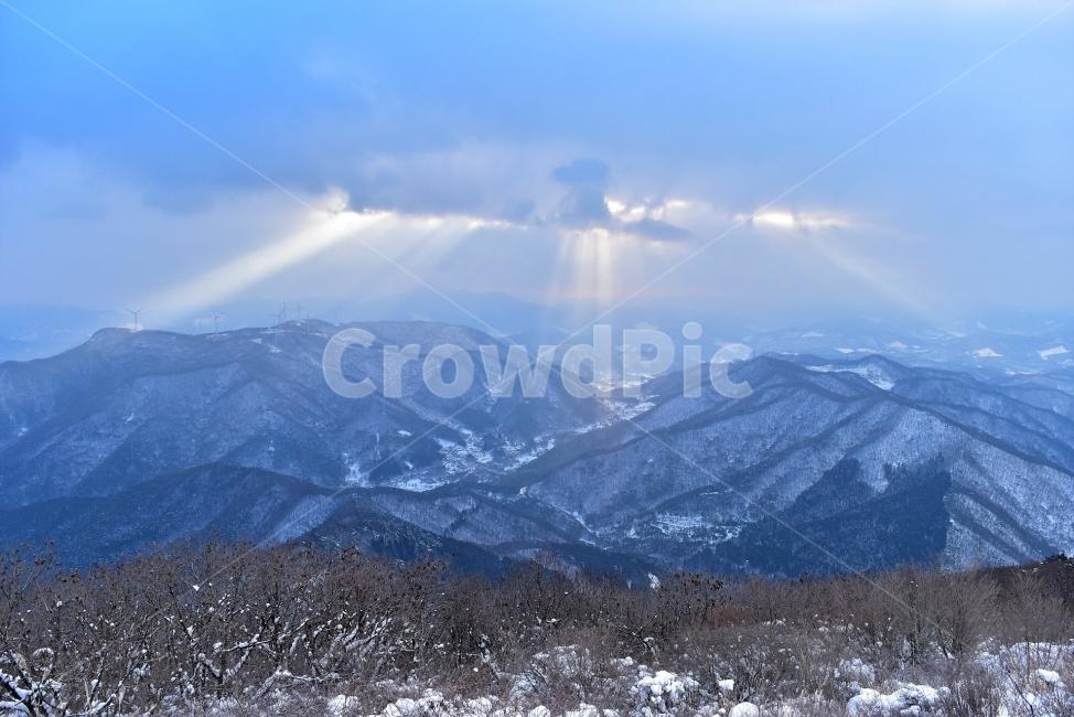 무등산, 국립공원, 풍경, 힐링, 산행