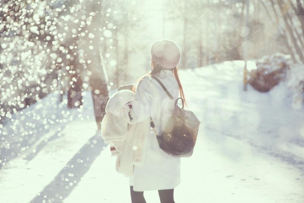 겨울, 눈, 감성사진, 컨셉사진, 스냅