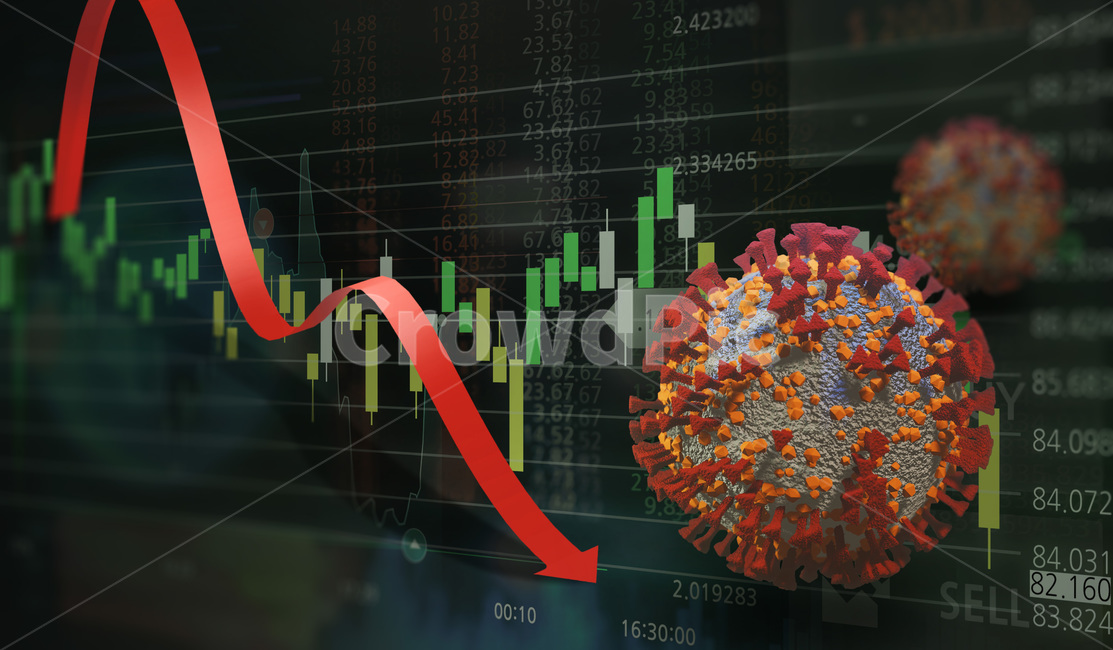 주식, 경제, 생물학적위험, 감소, 비즈니스
