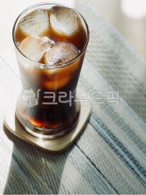 커피, 아이스커피, 아이스아메리카노, 여름, 시원한