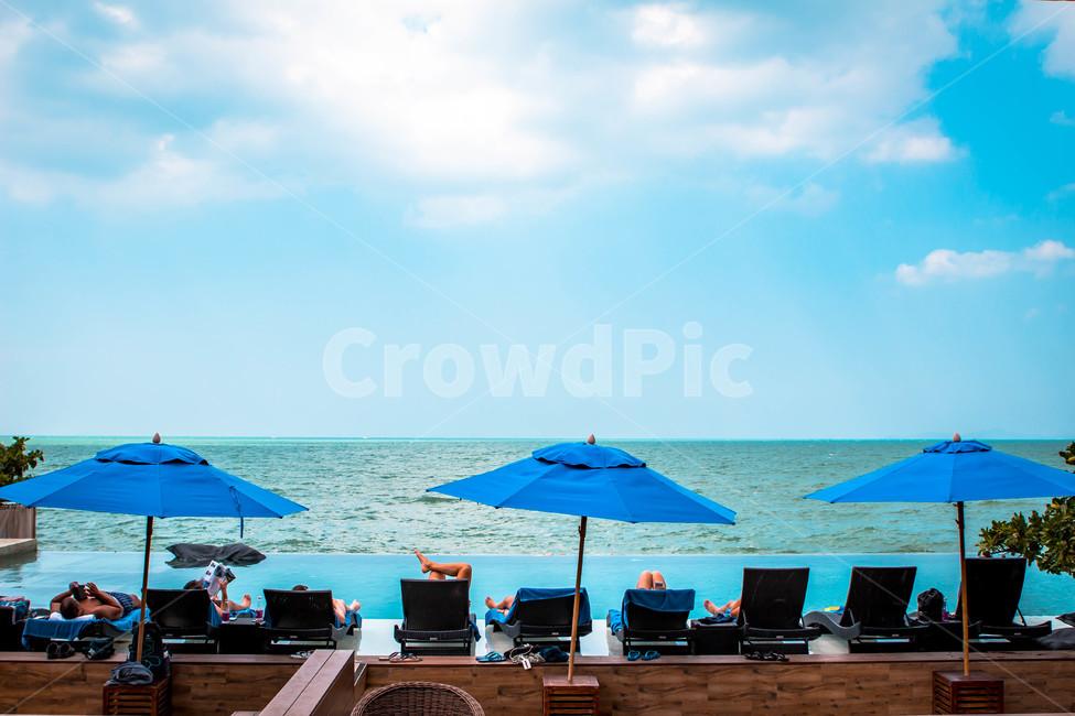 여름휴가, 여름, 여름풍경, 해변가, 바닷가