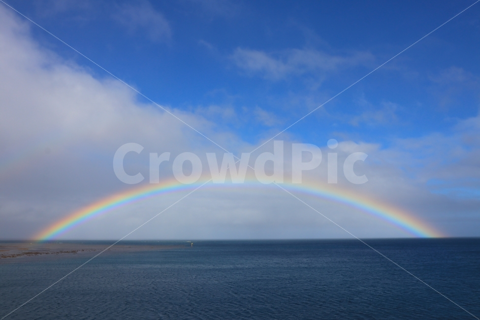 무지개, rainbow, 피지, fiji, island