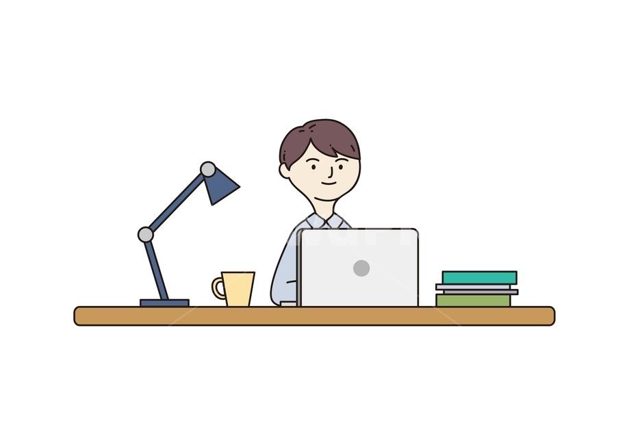 재택근무, teleworking, teletrabajo, 프리랜서, 일