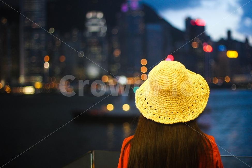 인물사진, 뒷모습, 홍콩, 홍콩여행, 보케