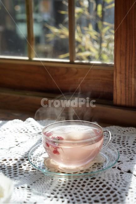 찻잔, 온기, 찻잎, 차, tea