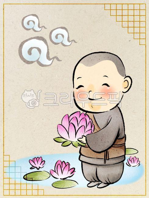 석가탄신일, 부처, 부처님오신날, 동자승, 스님