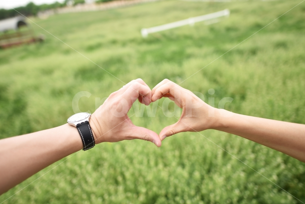 사랑, 신혼, 러브, 손하트, 하트