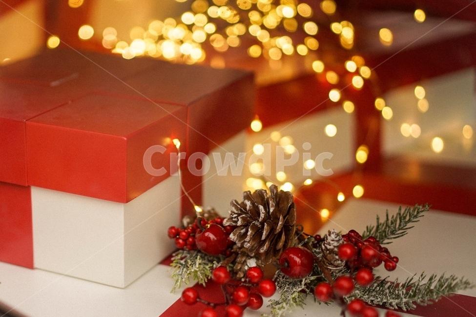크리스마스, 겨울, 트리, 크리스마스트리, 연말