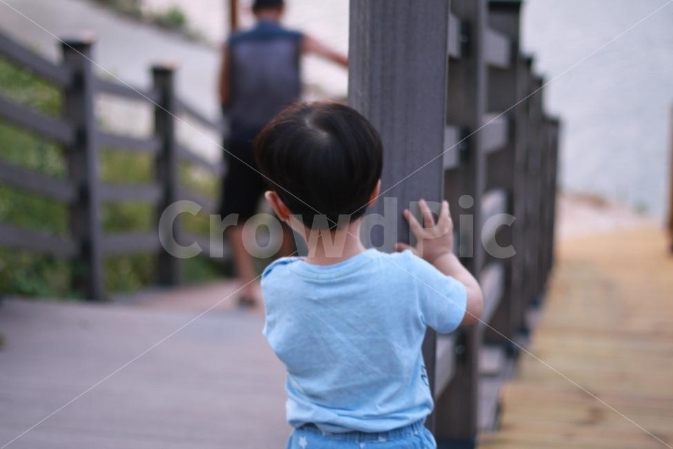 어린이, people, person, 낯선, 수줍은