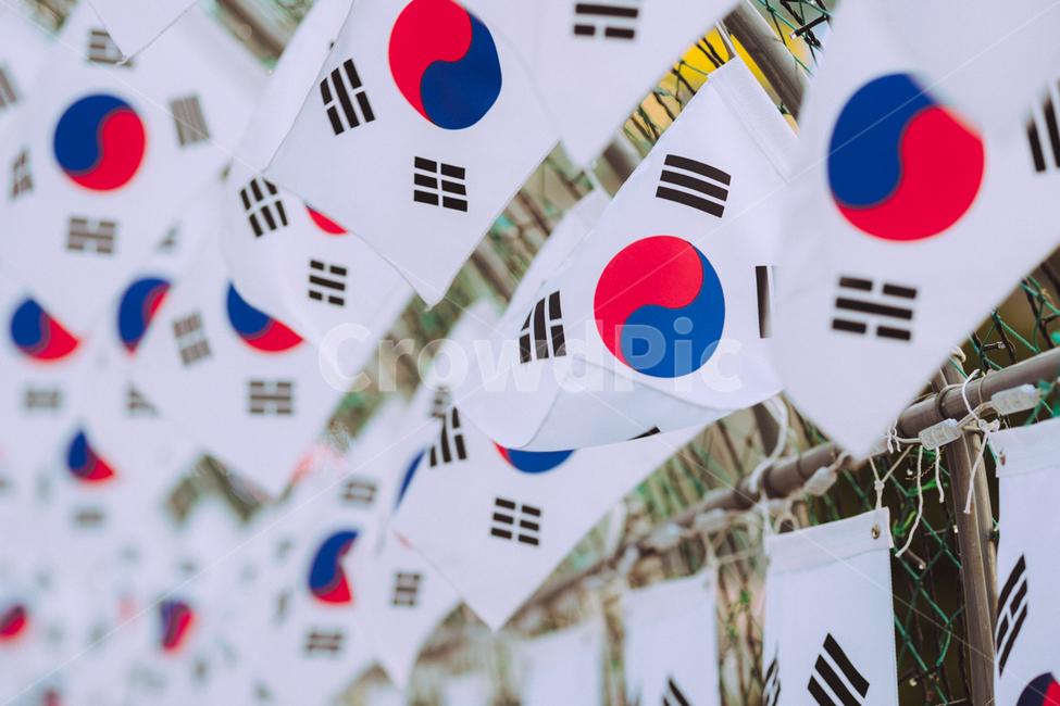 태극기, 태극, 우리나라, 국기, 광복절