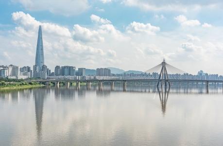 잠실-롯데월드타워-올림픽대교-풍경-landscape