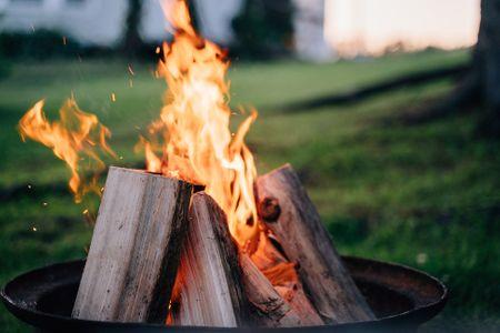 불-모닥불-불꽃-캠핑-여유로움