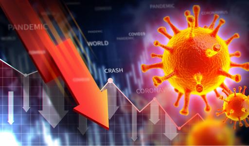 코로나바이러스-주식시장-하락-주식-그래프