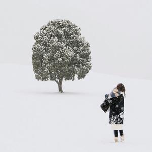올림픽공원-설경-눈-나무-사람