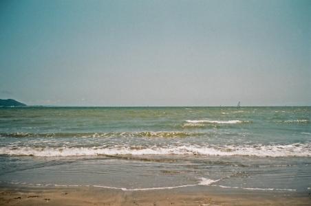 일본-가마쿠라-바다-수평선-자연
