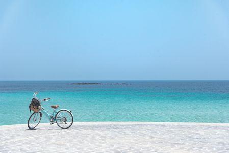 bicycle-vehicle-자전거-바다-하늘