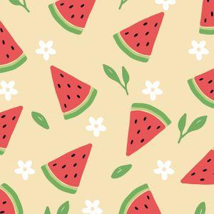 수박-여름-패턴-시원한-배경