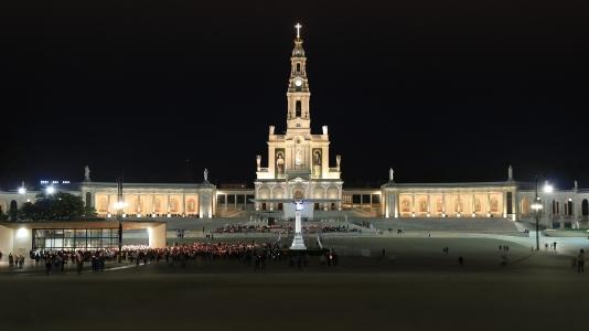 포르투갈-파티마-파티마대성당-야경-100D