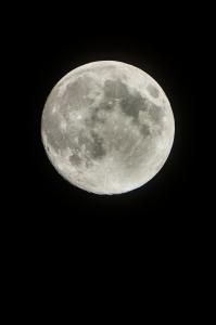 달-감성사진-달빛-분화구-밤