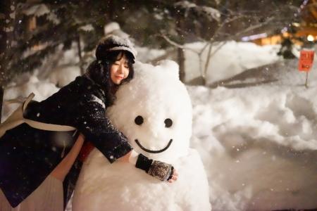 일본-홋카이도-후라노-닝구르테라스-겨울