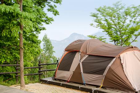 텐트-캠핑-캠핑장-자연-힐링