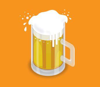 맥주-맥주잔-여름-시원한-맥주일러스트