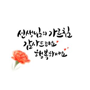 선생님-스승의날-감사-행복-카네이션