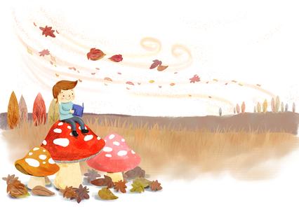 가을-독서-낙엽-가을풍경-바람
