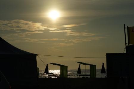 실루엣-바다-풍경-바닷가-느낌