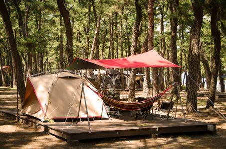 캠핑-텐트-자연-여유-캠핑장