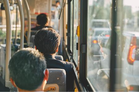 버스-노을-퇴근-일몰-퇴근길