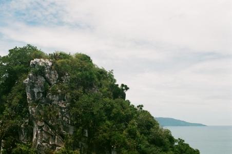 베트남-다낭-오행산-산-바다