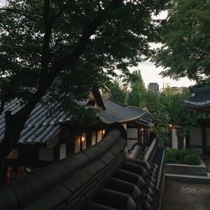 한국-한옥-가옥-야경-서울