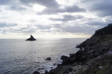 울릉도-바다-시원함-겨울바다-섬