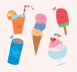 아이스크림-여름-마실것-음료수-쥬스